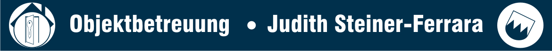 Judith Steiner-Ferrara Objektbetreuung